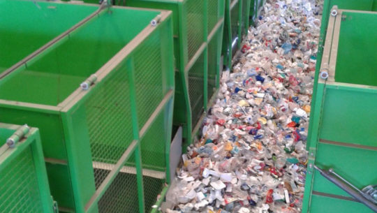 Impianto trattamento rifiuti Sidercamma
